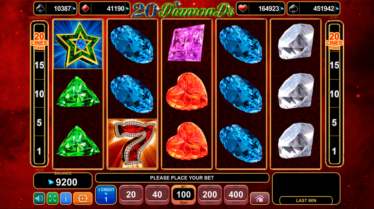 20 diamonds egt casino gokkasten