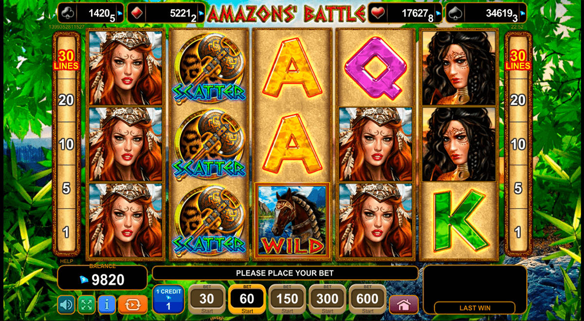 amazons battle egt casino gokkasten