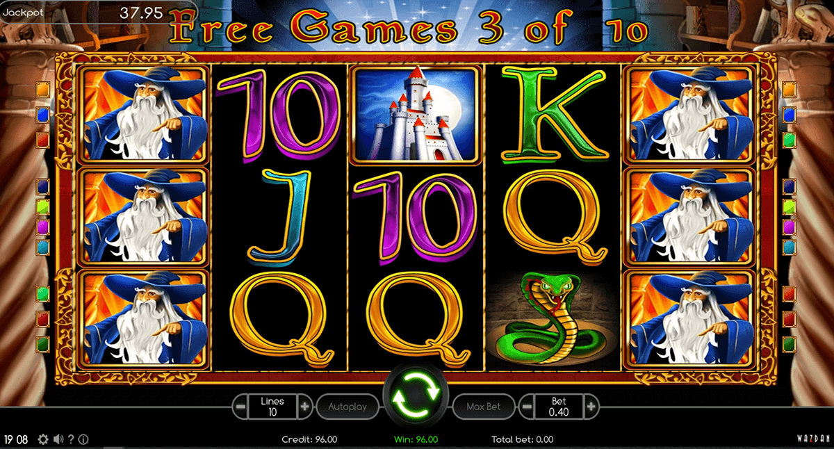 onlin casino book of magic