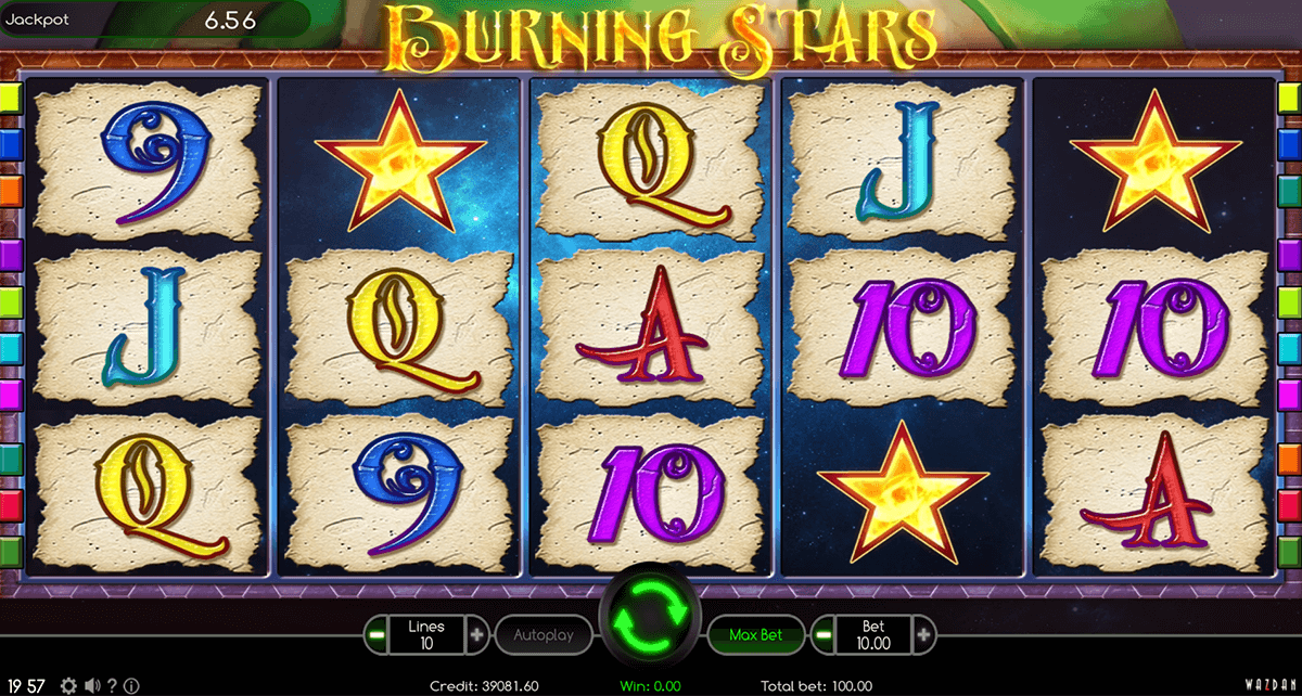 burning star wazdan casino gokkasten