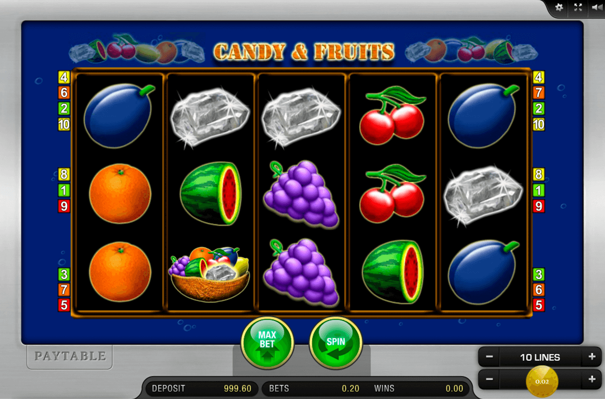 candy and fruits merkur casino gokkasten