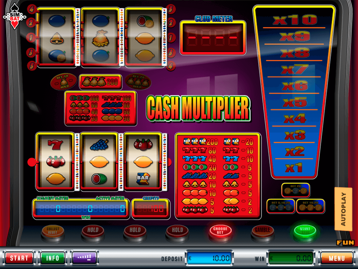 cash multiplier simbat casino gokkasten