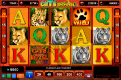 cats royal egt casino gokkasten 480x320