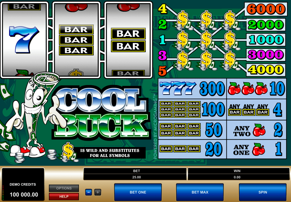 cool buck microgaming casino gokkasten