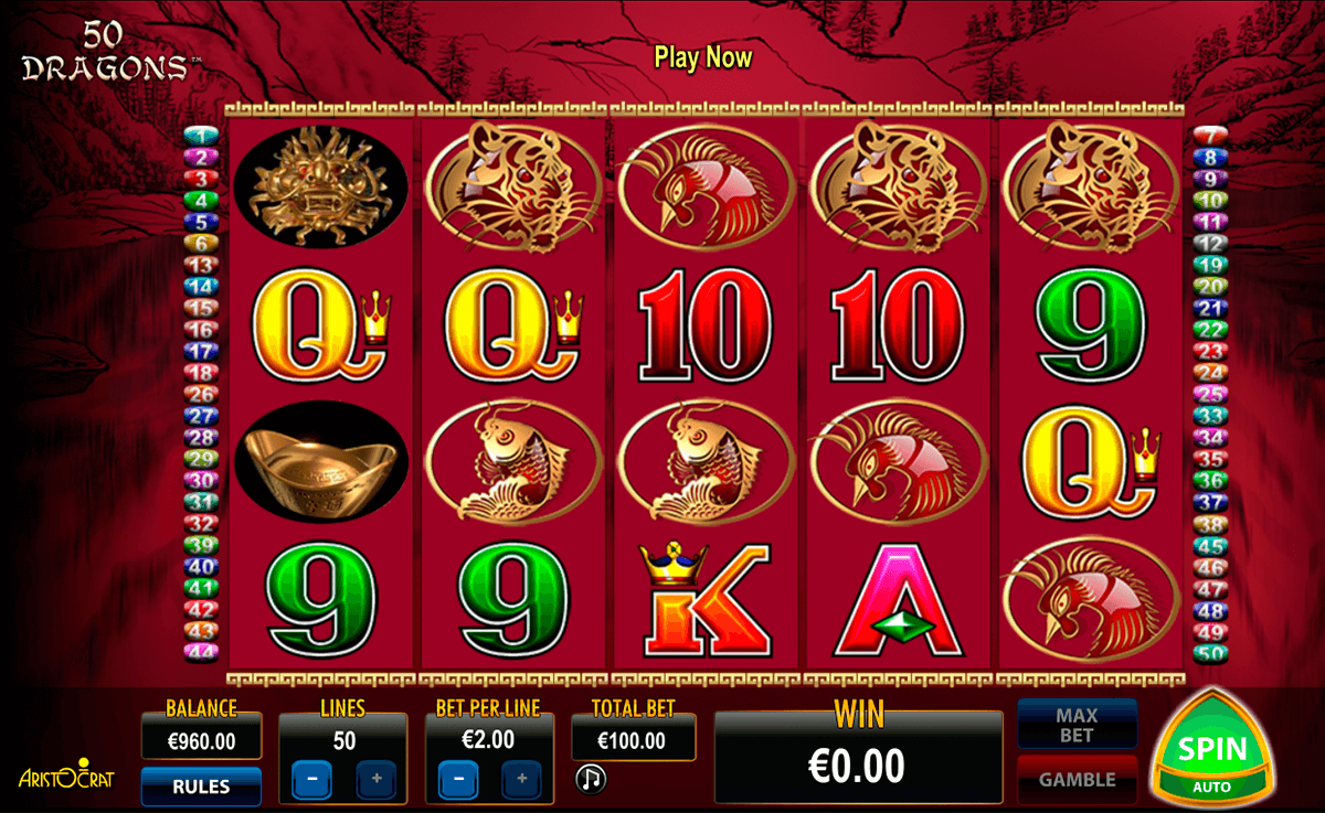 50 dragons aristocrat casino gokkasten