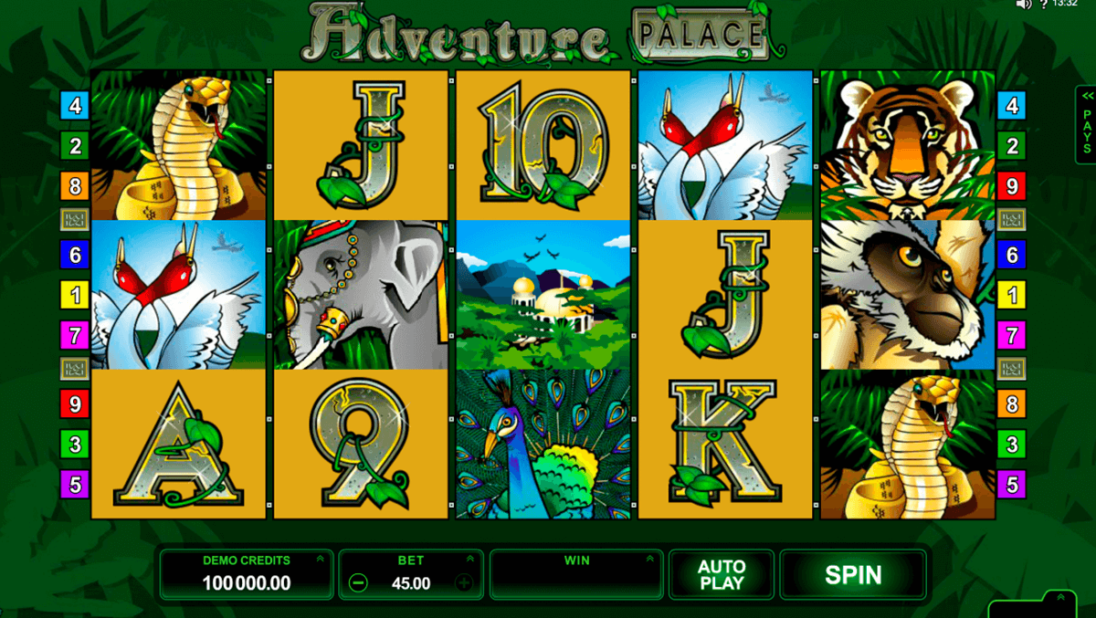 adventure palace microgaming casino gokkasten