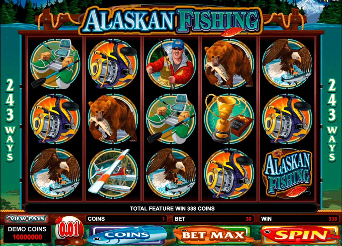 alaskan fishing microgaming casino gokkasten
