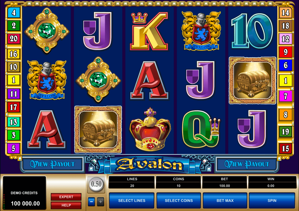 avalon microgaming casino gokkasten