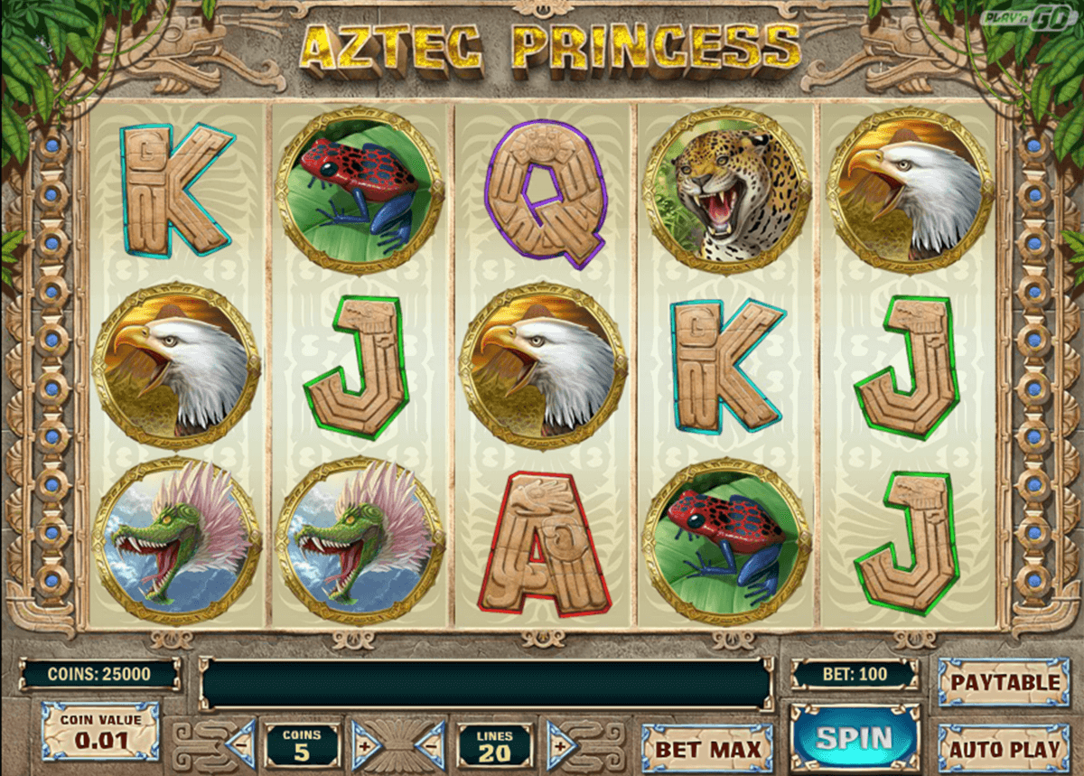 aztec princess playn go casino gokkasten
