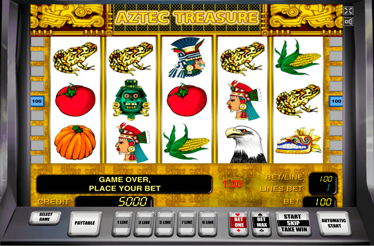 aztec treasure novomatic casino gokkasten