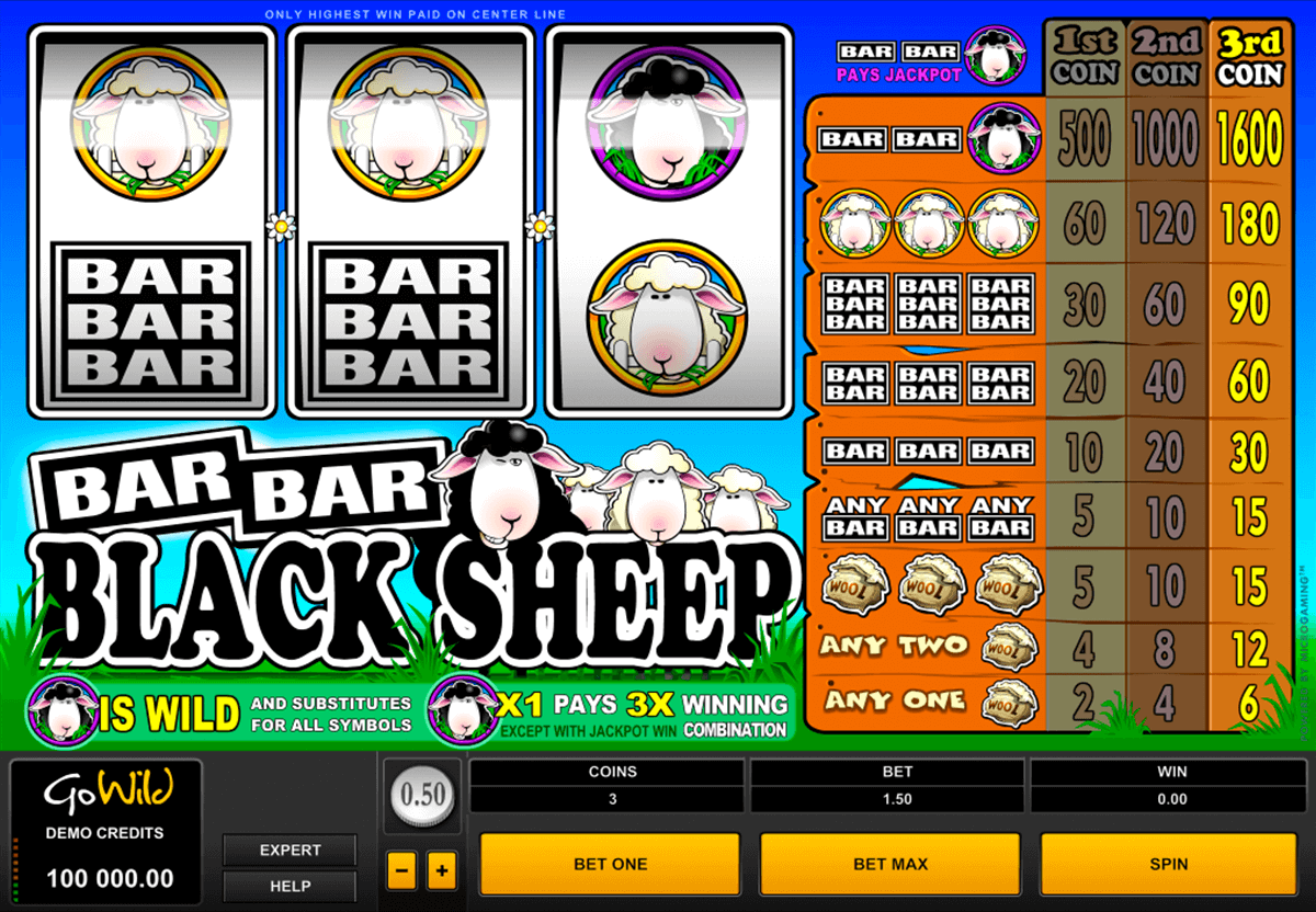 barbarblack sheep microgaming casino gokkasten