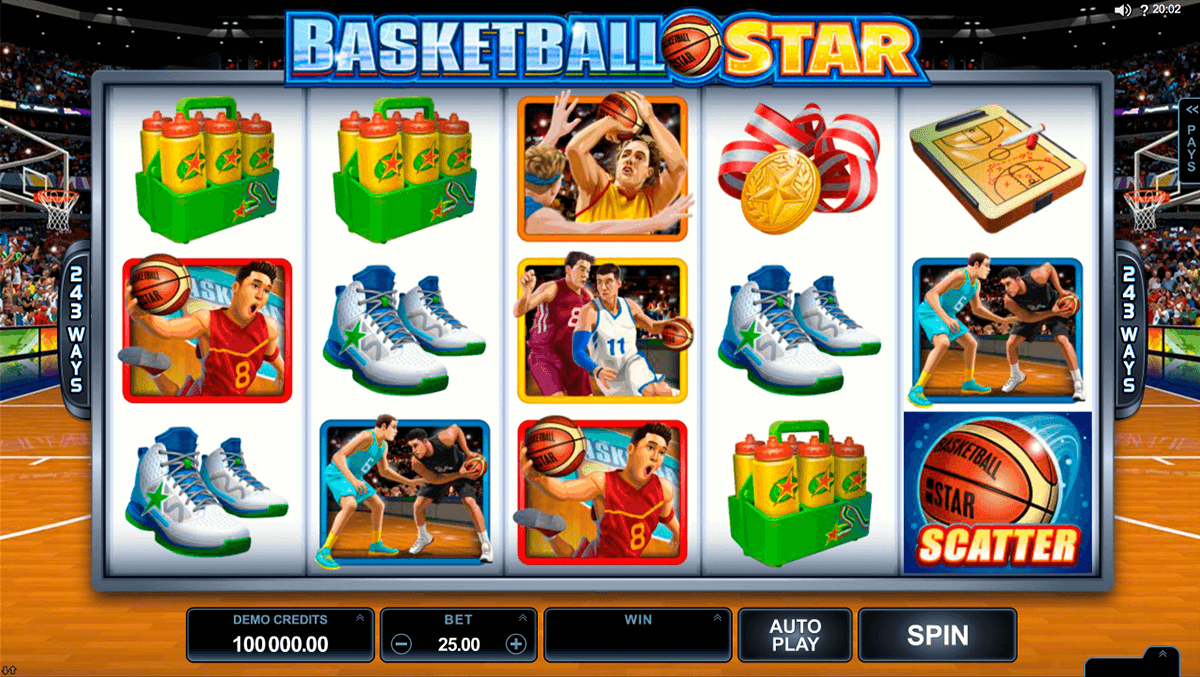 basketball star microgaming casino gokkasten