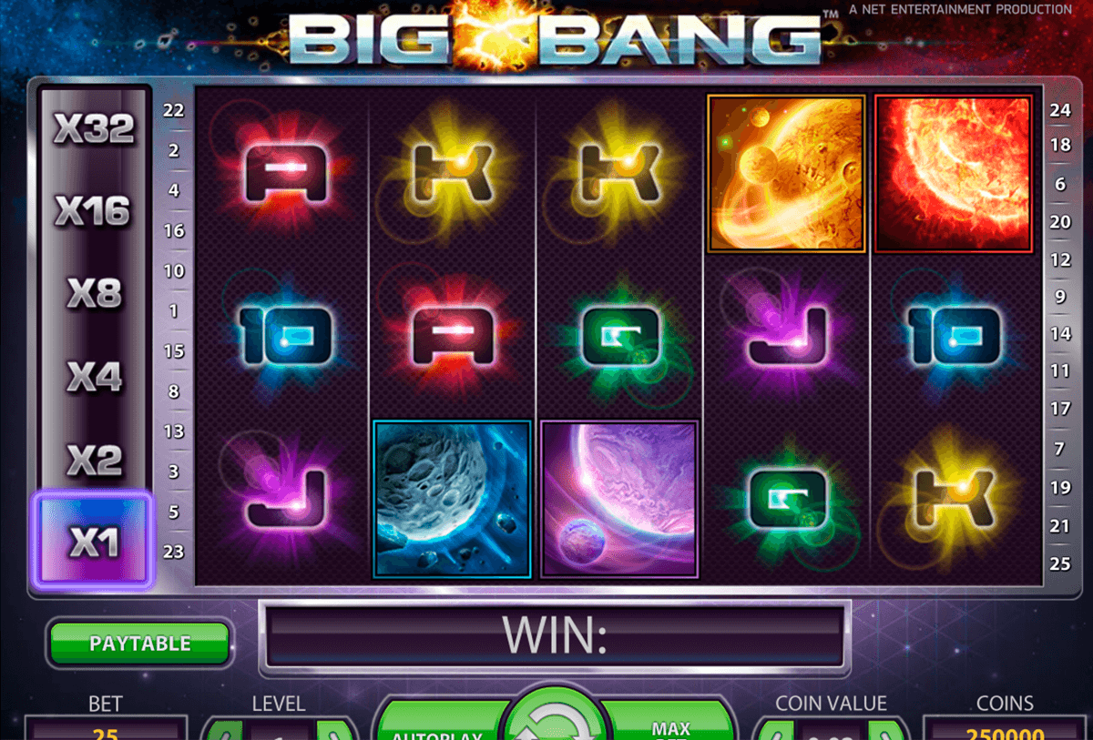 big bang netent casino gokkasten