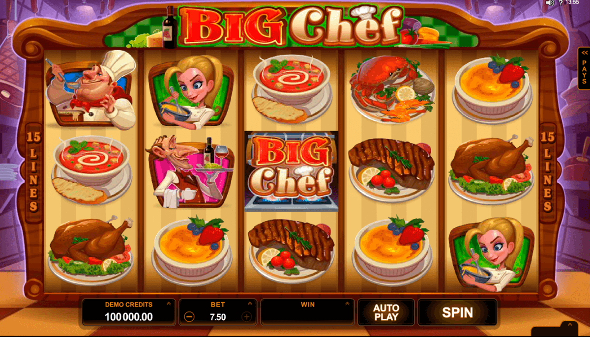 big chef microgaming casino gokkasten