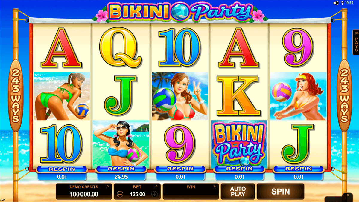 bikini party microgaming casino gokkasten