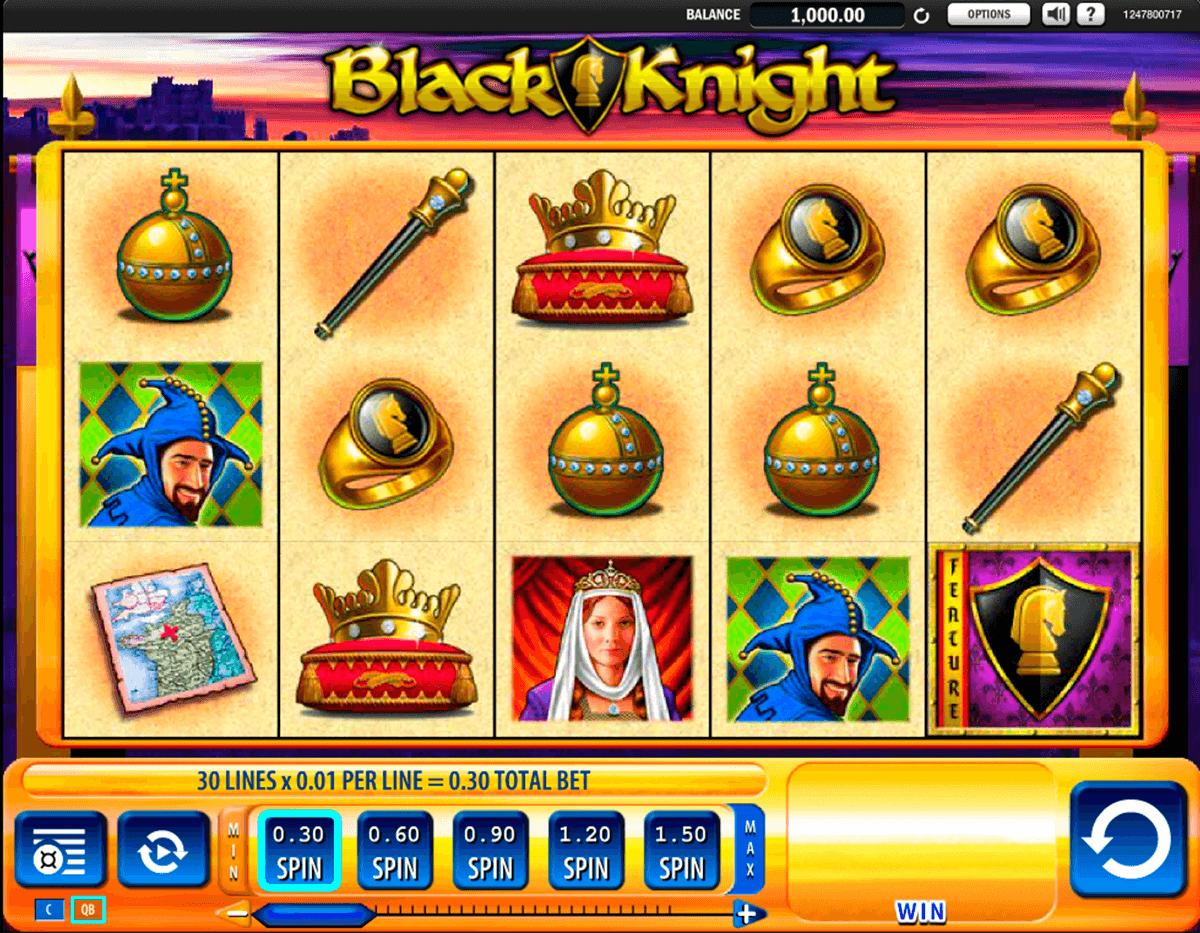 black knight wms casino gokkasten
