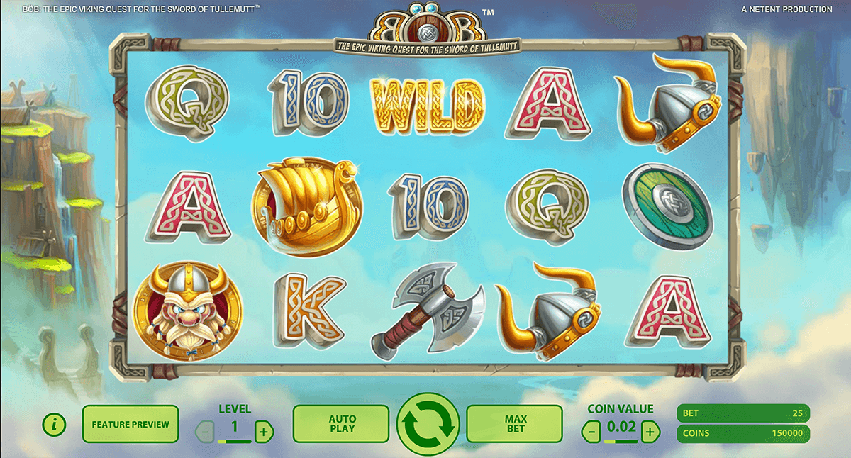 bob the epic viking quest netent casino gokkasten