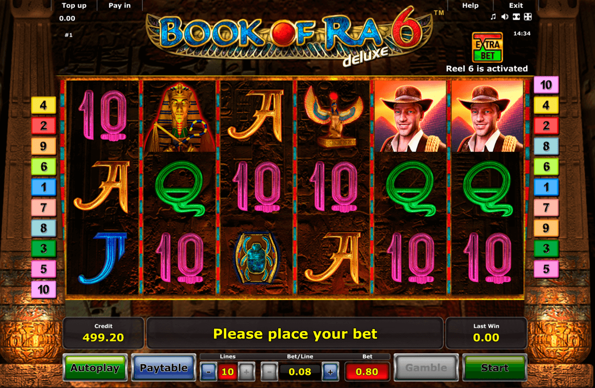 book of ra 6 novomatic casino gokkasten