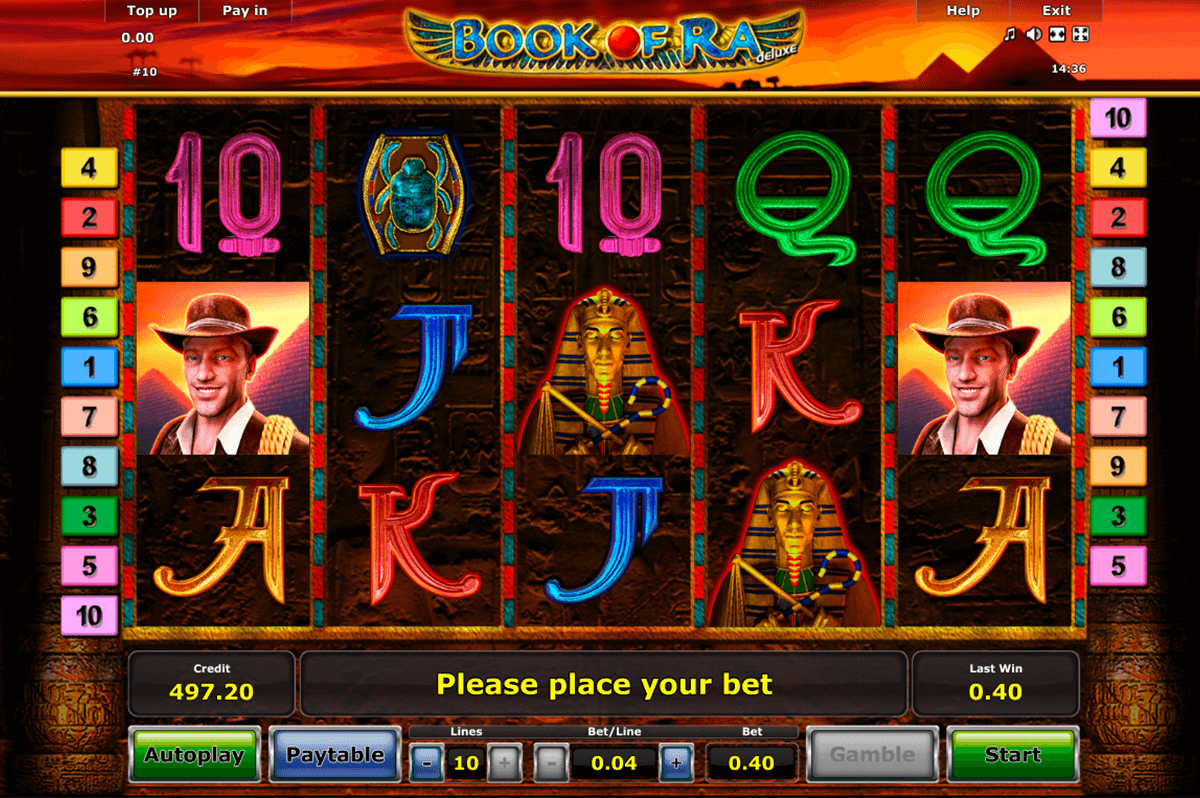book of ra deluxe novomatic casino gokkasten