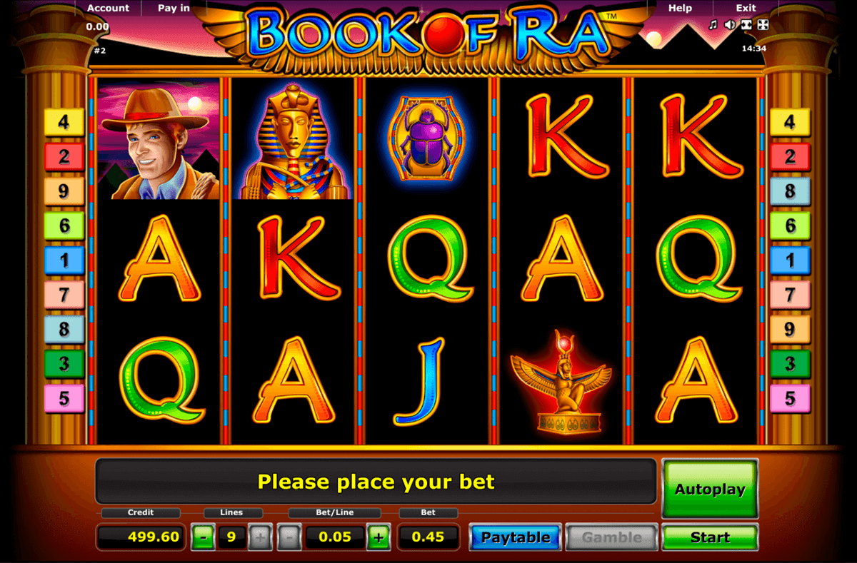 book of ra novomatic casino gokkasten