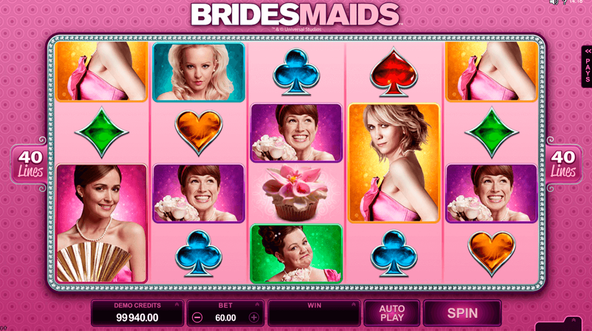 bridesmaids microgaming casino gokkasten