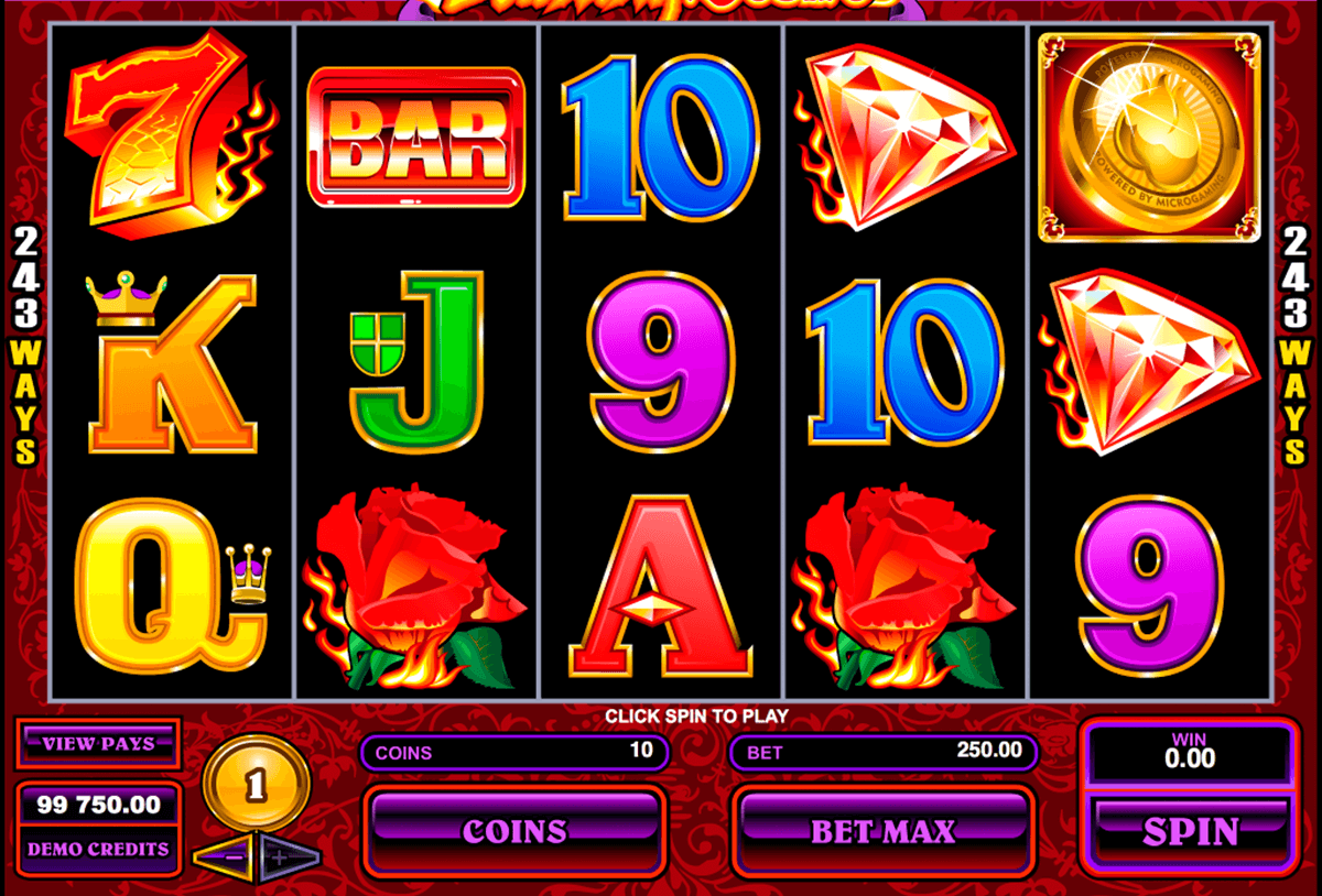 burning desire microgaming casino gokkasten