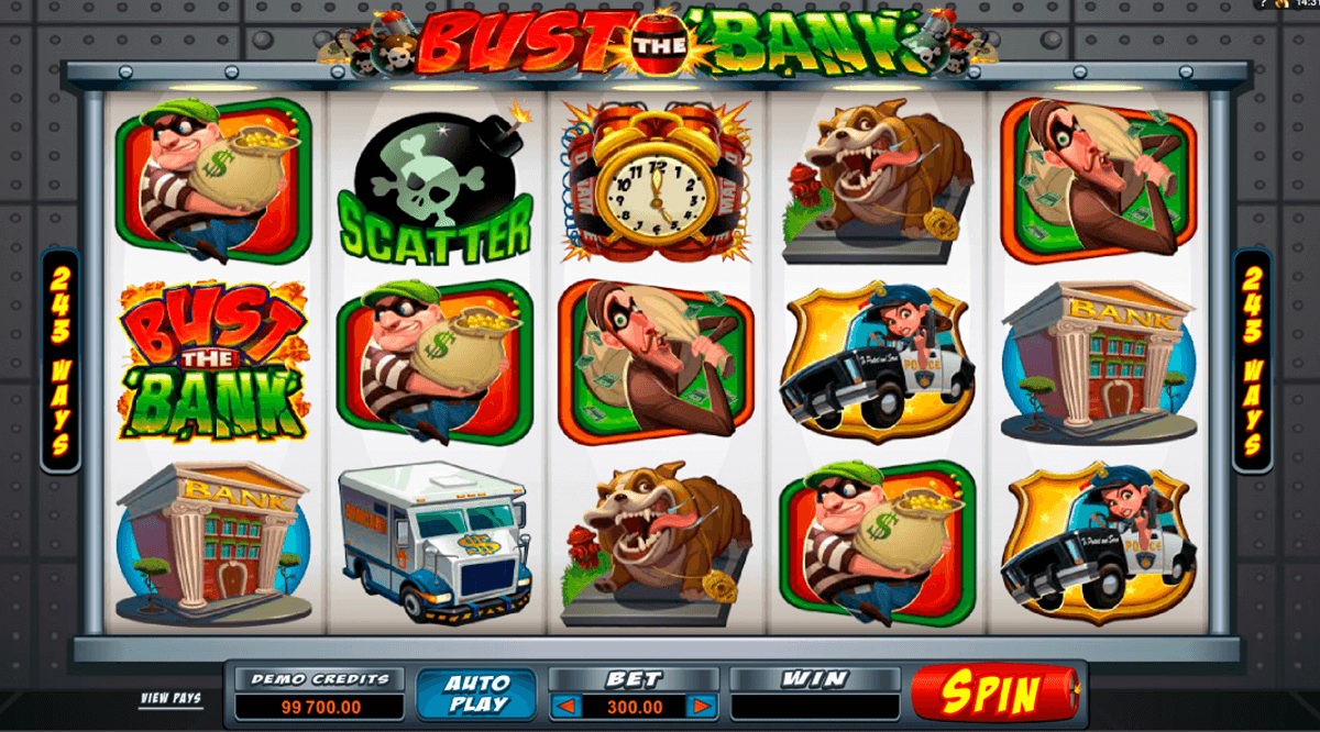 bust the bank microgaming casino gokkasten