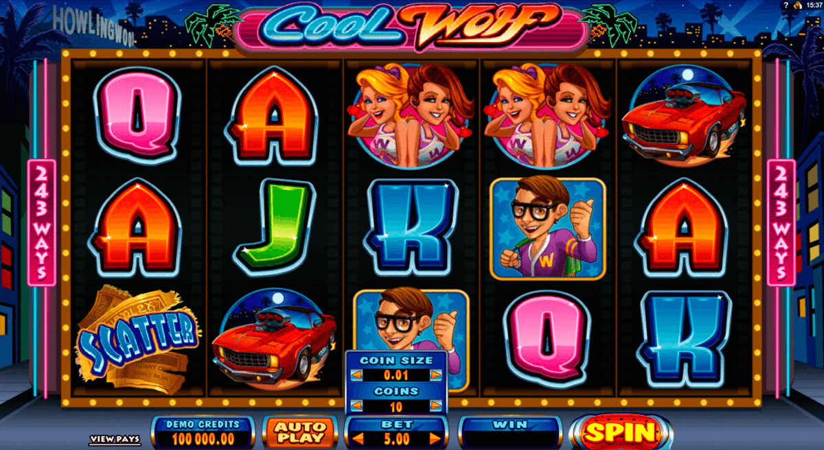 cool wolf microgaming casino gokkasten