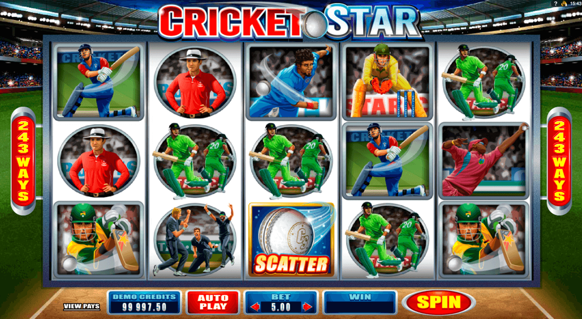 cricket star microgaming casino gokkasten