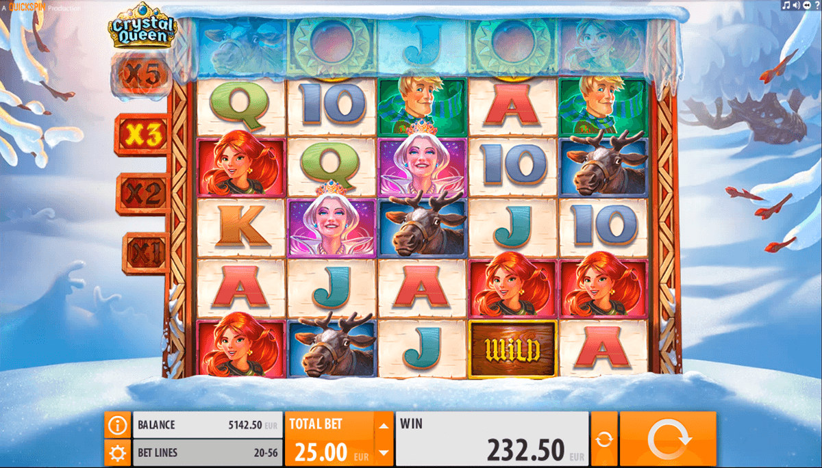 crystal queen quickspin casino gokkasten