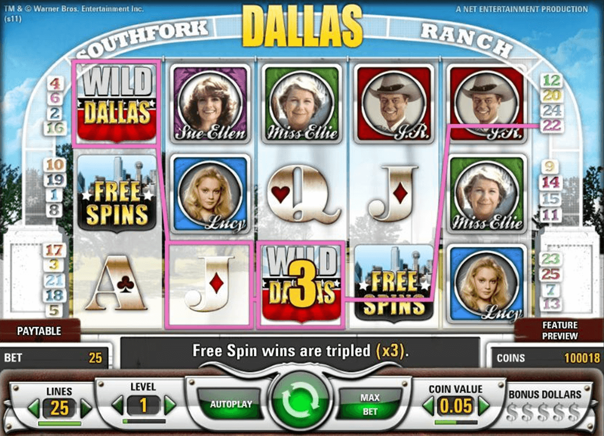 dallas netent casino gokkasten