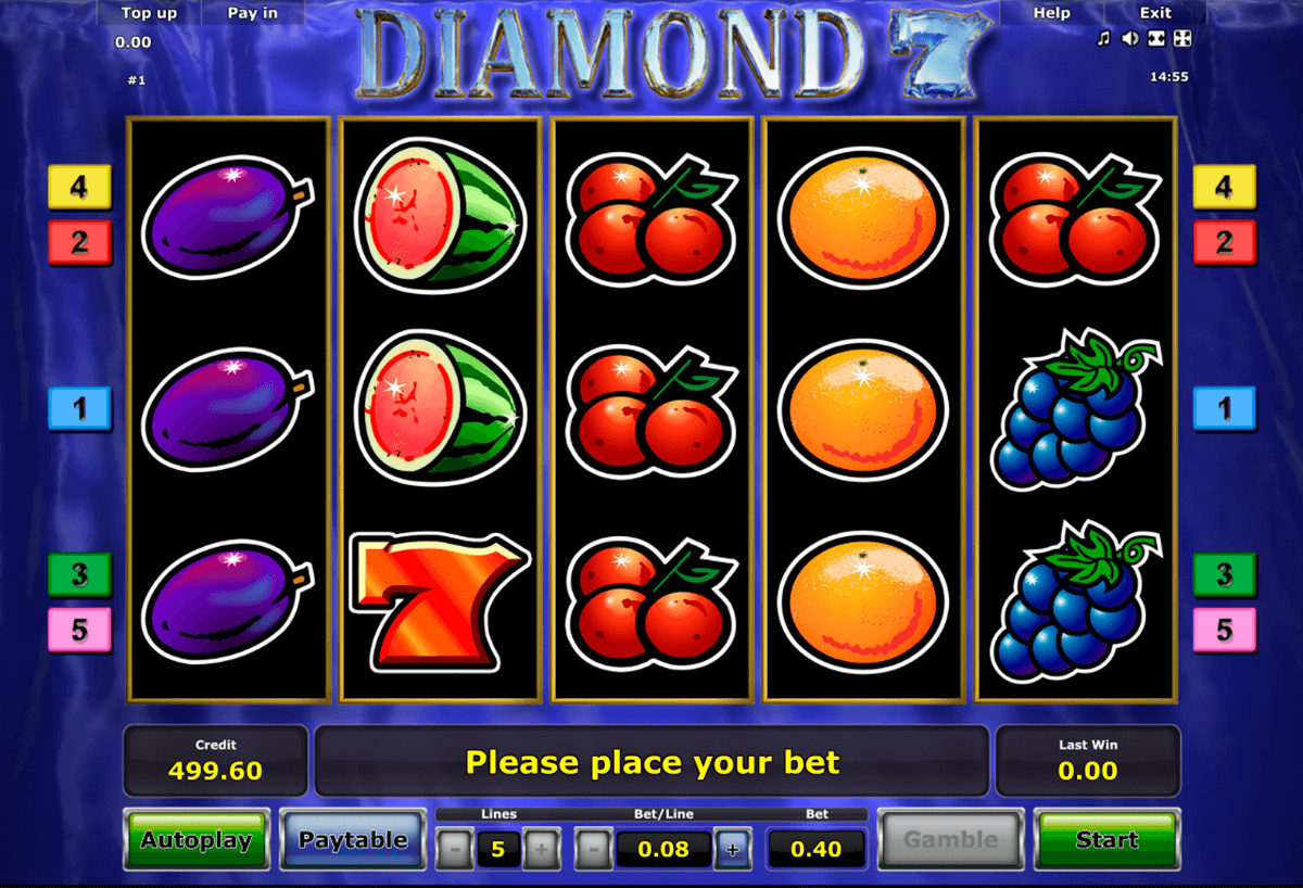 diamond 7 novomatic casino gokkasten