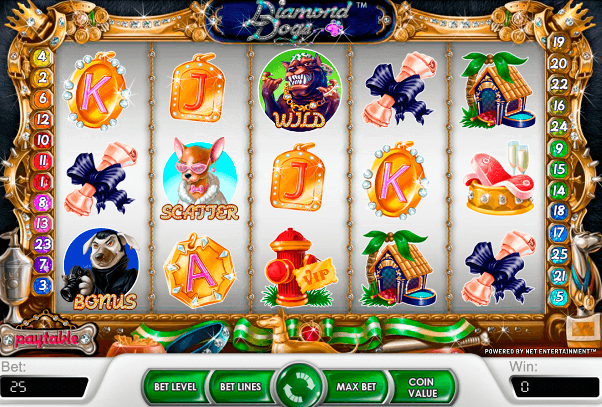 diamond dogs netent casino gokkasten
