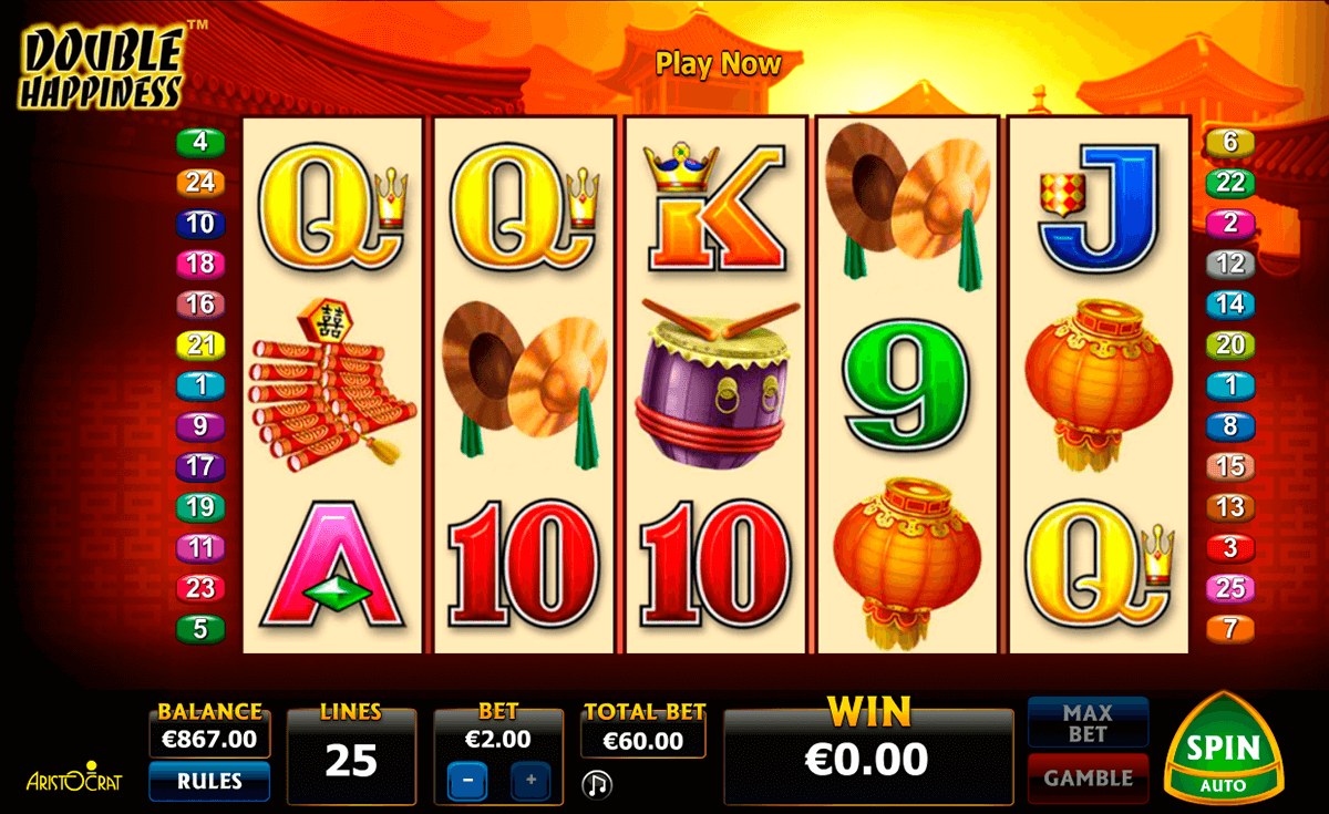 double happiness aristocrat casino gokkasten