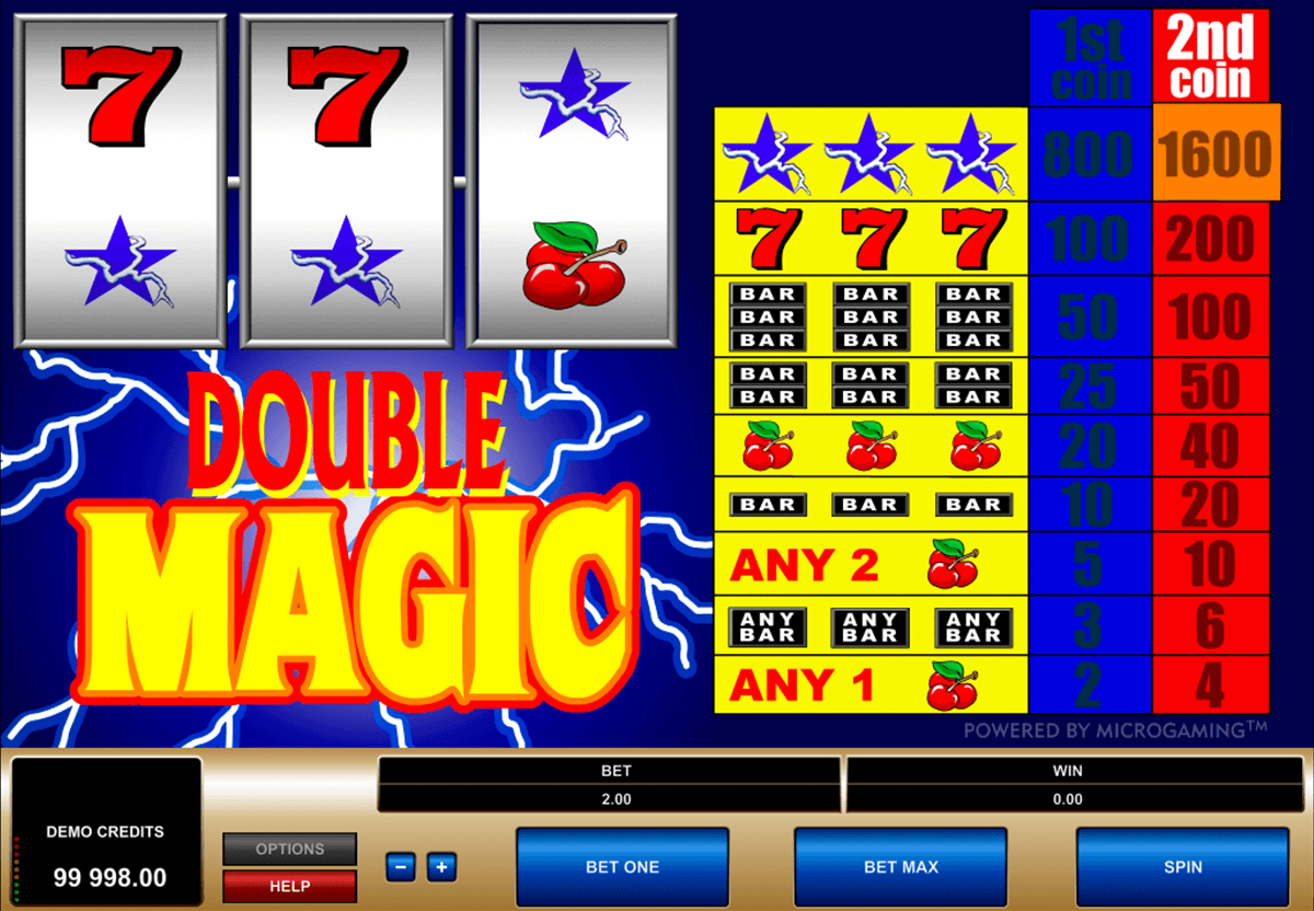 double magic microgaming casino gokkasten