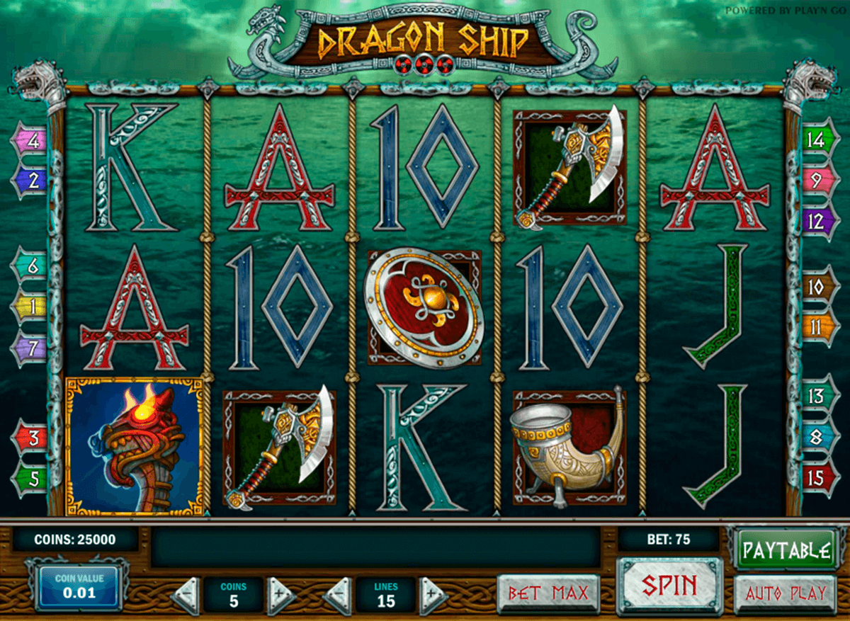 dragon ship playn go casino gokkasten