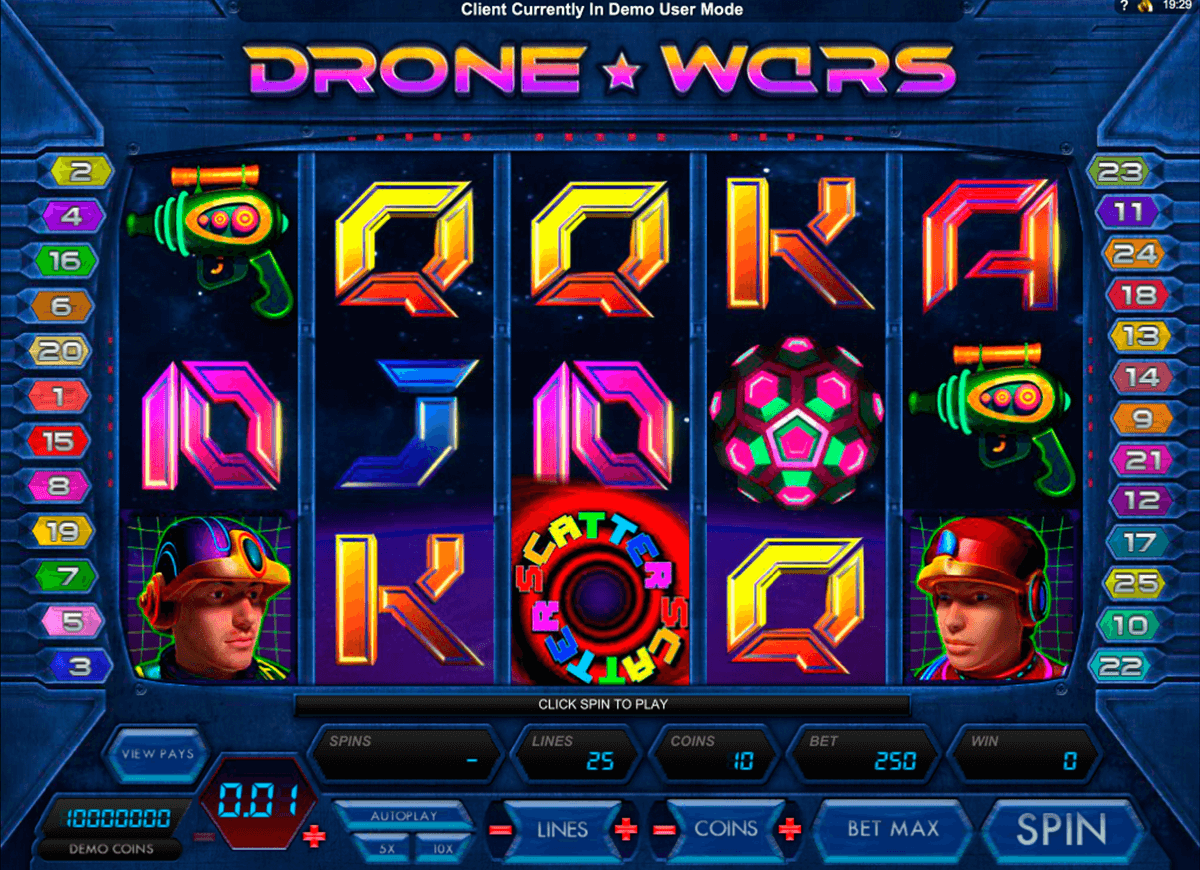 drone wars microgaming casino gokkasten