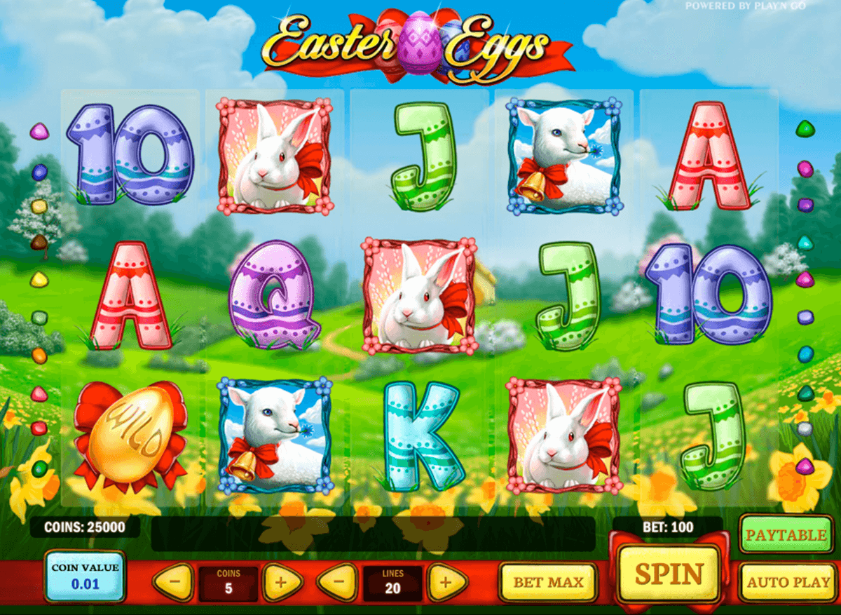 easter eggs playn go casino gokkasten
