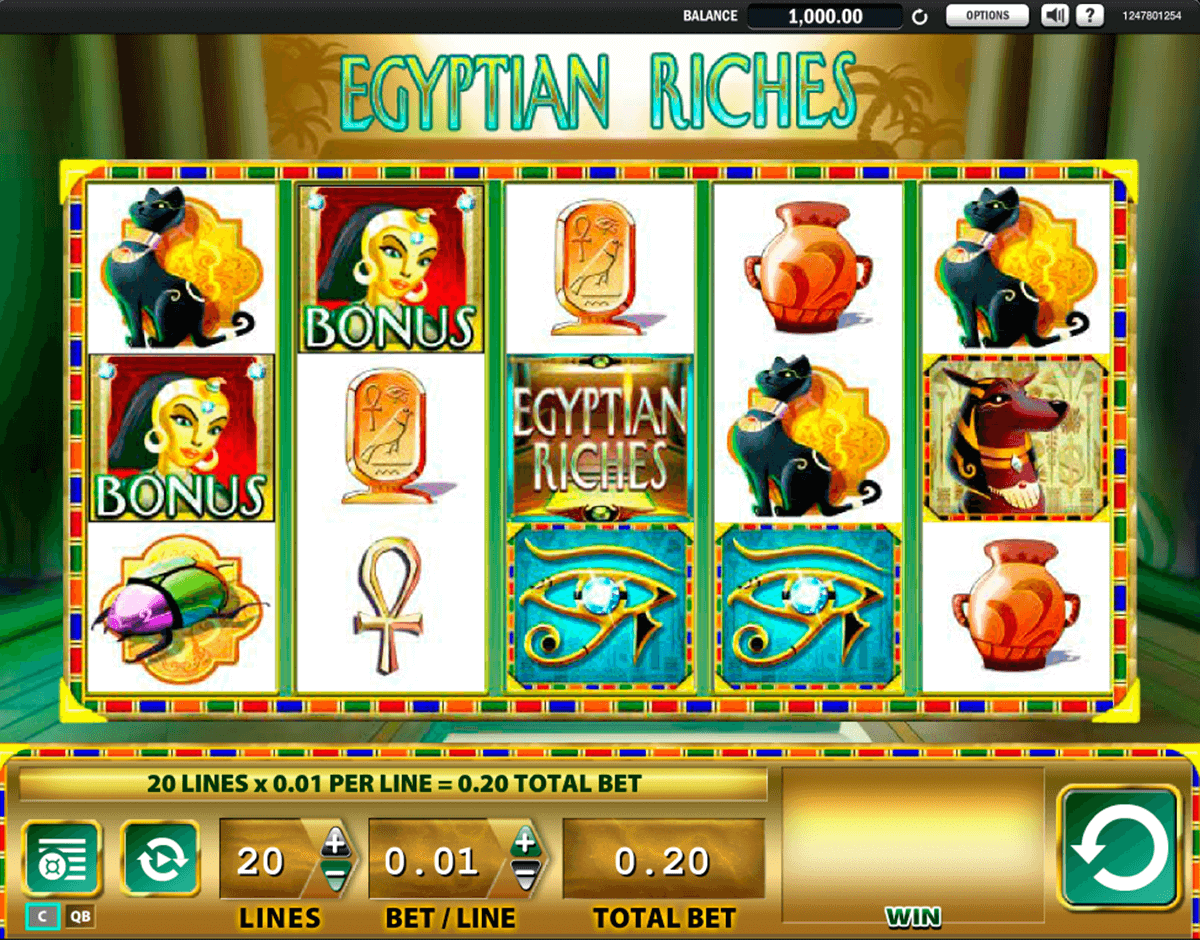 egyptian riches wms casino gokkasten