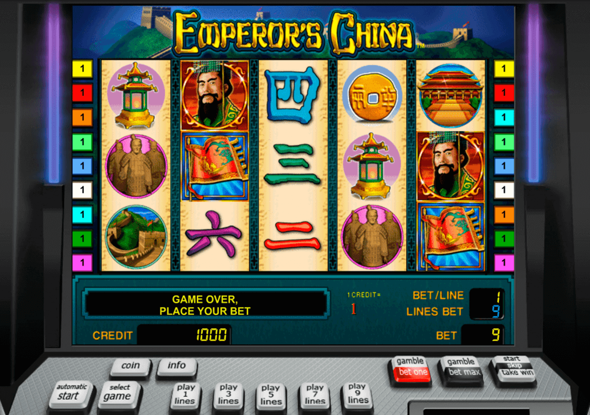emperors china novomatic casino gokkasten