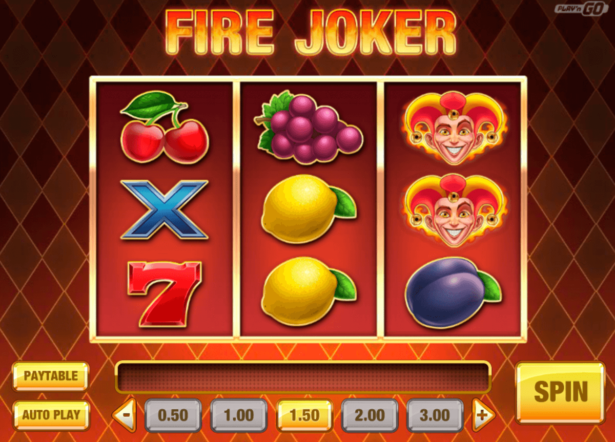 fire joker playn go casino gokkasten