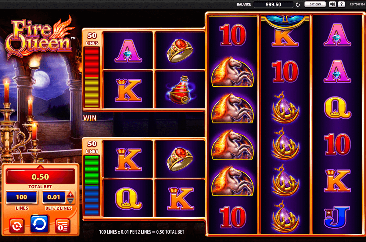 fire queen wms casino gokkasten