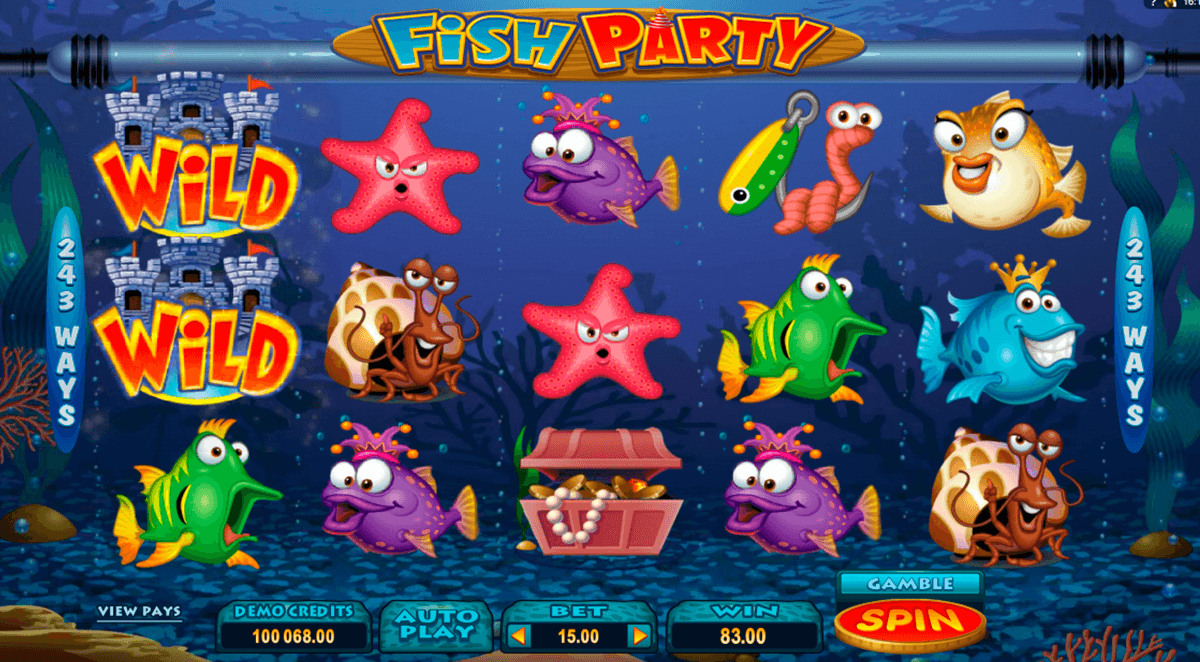 fish party microgaming casino gokkasten