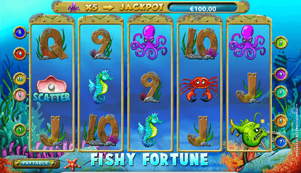 fishy fortune netent casino gokkasten