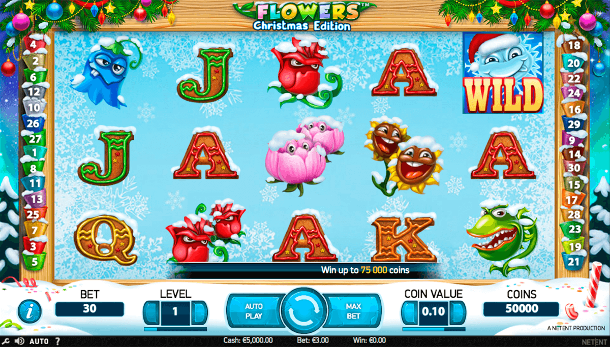 flowers christmas edition netent casino gokkasten