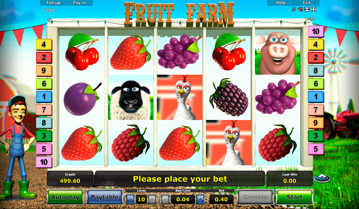 fruit farm novomatic casino gokkasten