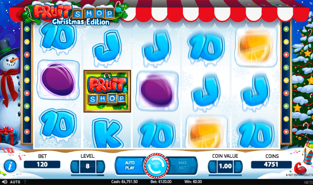 fruit shop christmas edition netent casino gokkasten