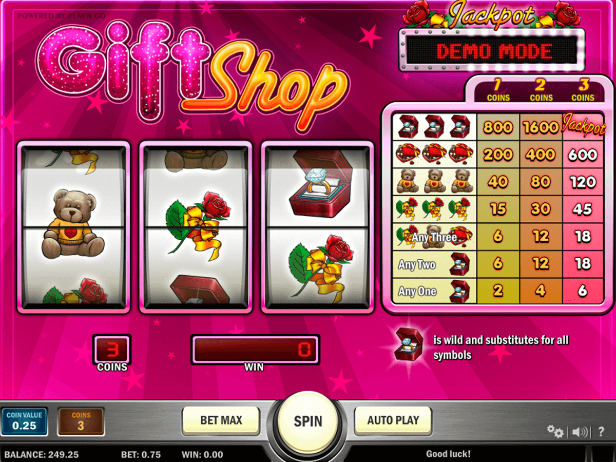 gift shop playn go casino gokkasten