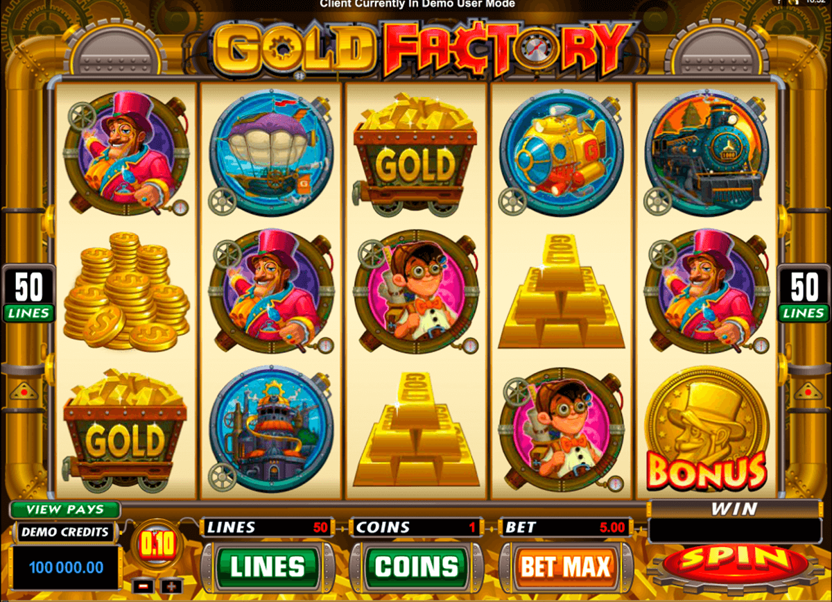 gold factory microgaming casino gokkasten