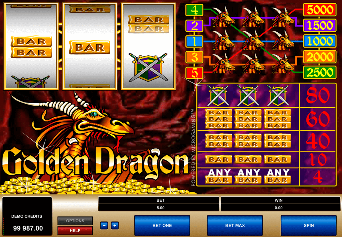 Spiele Golden Dragon (TOPTrend) - Video Slots Online